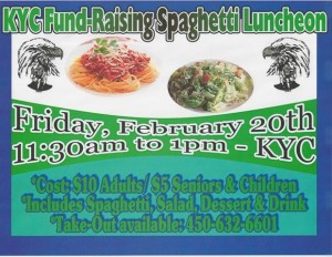 spaghetti luncheon