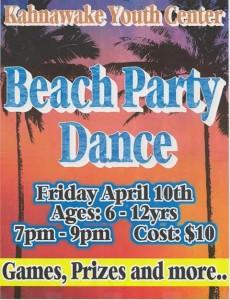 Beach Party Dance