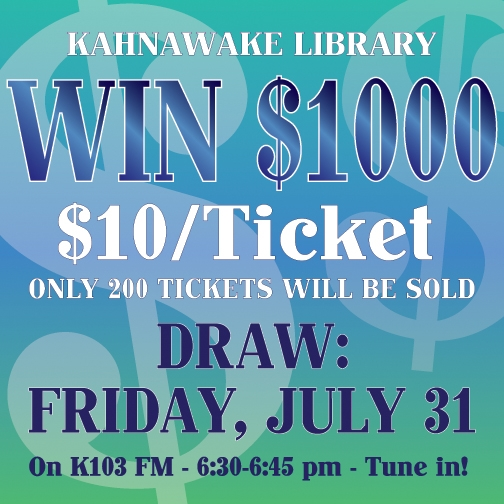 library raffle